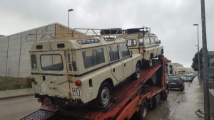 Land Rover desde España a Estados Unidos