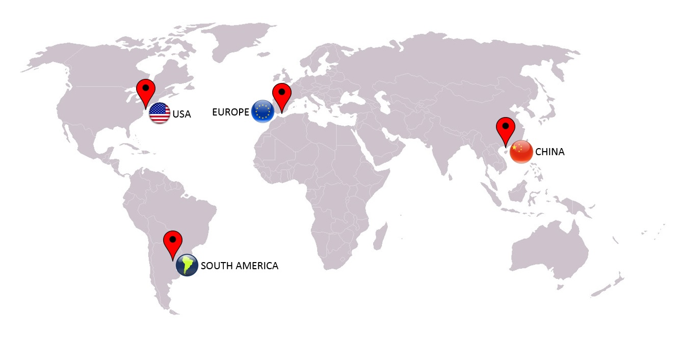 BR LOGISTICS LOCATIONS BR EXPORT USA