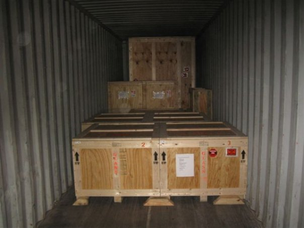 Containers service BR EXPORT USA LOGISTICS