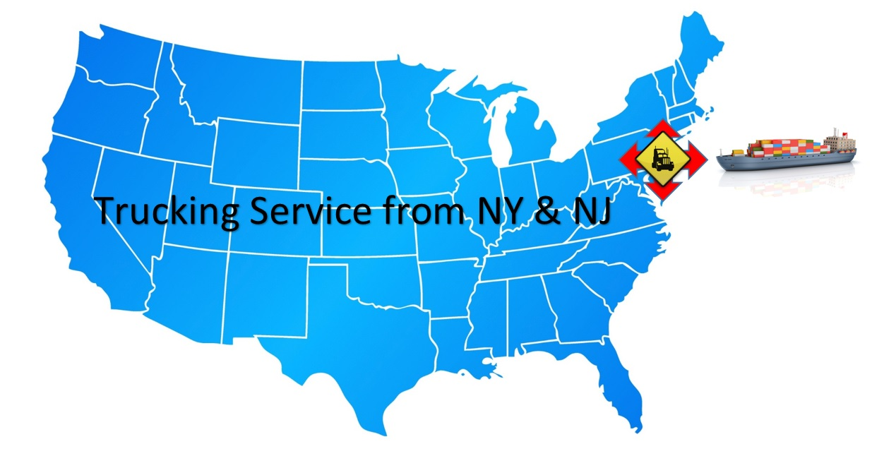 Trucking service from NY and NJ BR EXPORT USA LOGISTICS